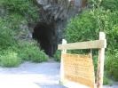 nie eröffneter Eisenbahntunnel