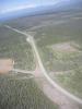 Der Alaska Highway aus der Luft